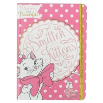 Precious & Puuurrfect Smitten with Kittens A5 Aristocats Note Book - Pink - 21 x 15cm