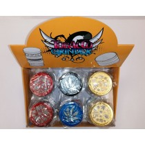Hand Muller 4 Piece High Quality Metal Herb & Tobacco Grinder - Assorted Colours - Amsterdam