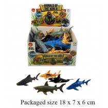 Toy Animals Of The World Sea World Series - Assorted Sizes, Shapes And Colours