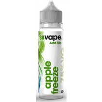 88 Vape Shortfill E Liquid - Apple Freeze - 75% Vg - 50Ml