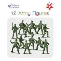 Toy Army Figures - Pack Of 12