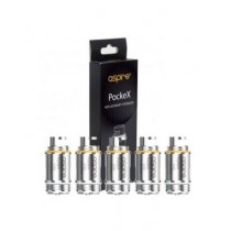 Aspire Pockex Replacement Atomizer / Coils - Pack Of 5