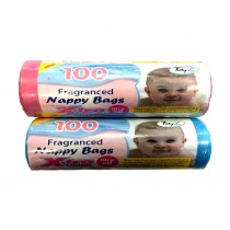 Roll Of 100 Nappy Bags