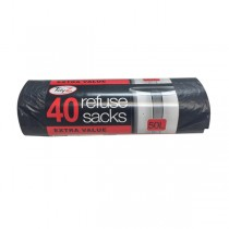 Large Refuse Sack Bin Liners - Pack Of 40