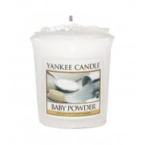 Yankee Candle - Samplers Votive Scented Candle - Baby Powder - 50g