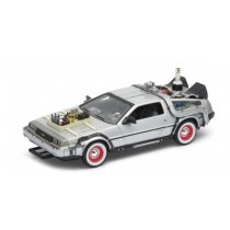 Die Cast Back to the Future 3 Delorean Time Machine - 23 x 11 x 10cm