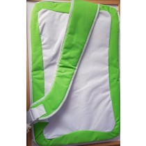 Green & White Case Bag 4 Nintendo Wii Fit Balance Board