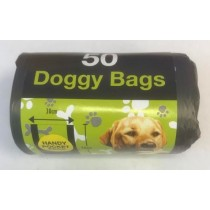 Tidyz Handy Pocket Doggy Bags - Pack Of 50 - 30 x 36cm