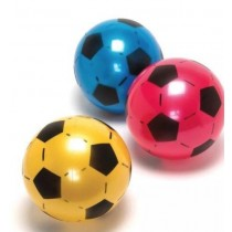 Deflated Football - Soccer Ball - Approx 21cm - Colours Vary