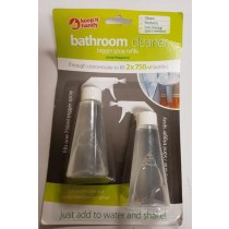 Bathroom Cleaner Trigger Spray Refills - Ocean Fragrance - 2 X 750Ml