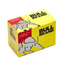 Bull Brand Ultra Slim Filter Tips - 10 Box X 160 Filter Tips