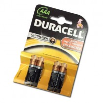 Duracell Aaa Batteries - Pack Of 4