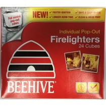 Beehive Individual Pop-Out Fire Lighters - Pack of 24