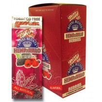 Hemp A Rillo Tobacco Free Royal Blunts - Pack of 15 - Berries