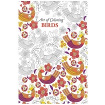 Art of Colouring Birds Adult Colouring Book 24 Pages Relaxing Therapy - Price marked $5 - 27.5 x 22cm