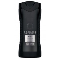 Lynx Black Shower Gel - Fresh Charge - 250ml