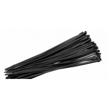 Black Cable Ties - 400mm x 6mm - Pack of 20
