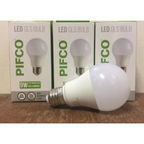 Pifco LED GLS Bulb - E27 Screw Cap - Warm White - 9W - 765 Lumens