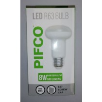 Pifco LED R63 Bulb - E27 Screw Cap - Warm White - 8W - 640 Lumens
