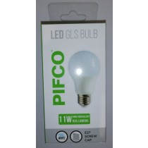 Pifco LED GLS Bulb - E27 Screw Cap - Cool White - 11W - 935 Lumens