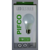 Pifco LED GLS Bulb - E27 Screw Cap - Warm White - 11W - 935 Lumens