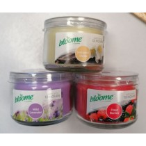 Bloome Small Round Candles - Assorted fragrances - 220g