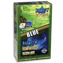Juicy Hemp Wraps - Blue - Pack Of 50 (25 X 2)