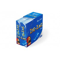 Zig Zag Blue King Size Slim - 50 Booklets