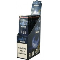 Juicy Double Blunt Wraps - Blue - Pack Of 50 (25 X 2)