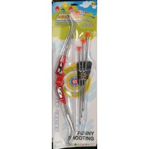 Funny Shooting Bow & Arrow Set - 63.5 x 19cm