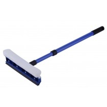 Extendable Pro Telescopic House Window or Car Windscreen Sponge Squeegee Cleaner Wiper Brush with Little Rusty Screws - Maximum Length 73cm