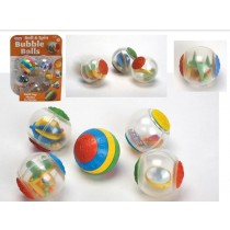 Fun Time Roll & Spin Bubble Balls - 25 x 20 x 6cm - For Kids Age 0+ Months