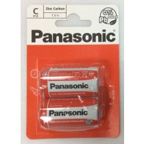 Panasonic C/R14 Batteries - Pack Of 2