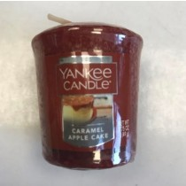 Yankee Candle - Samplers Votive Scented Candle - Caramel Apple Cake  - 50g