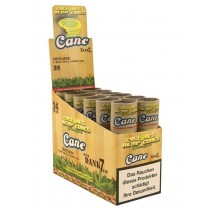CYCLONES HEMP CONES EXTRA SLOW WITH DANK 7 TIP - CANE - 24 HEMP CONES & 24 WOODEN TIPS - 24 PER BOX