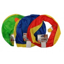 Pet Touch Cat Play Tunnel - Colours May Vary - 25Cm X 30Cm