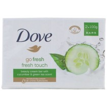 Dove Go Fresh Beauty Cream Bar Of Soap - Fresh Touch - Pack of 2 x 100G