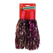 Twin Keep Fit Cheer Leading Pom Pom - Pack Of 2
