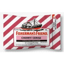 Fisherman's Friend - Cherry - Extra Frische Menthol - Pastillen - 25 Grams