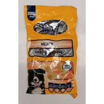 One-A-Day Premium Quality Chicken Meaty Drumsticks for Small-Medium Dogs - 200g - Exp: 06/2022