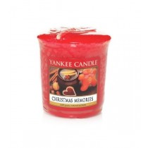 Yankee Candle - Samplers Votive Scented Candle - Christmas Memories - 50g