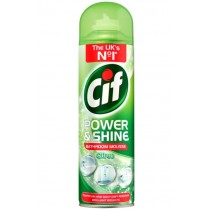 CIF Power & Shine Bathroom Mousse - Citrus - 500ml