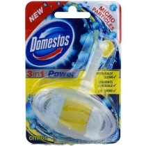 Domestos 3 In 1 Power Toilet Rim With Micro Particles - Citrus - 40G