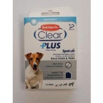Bob Martin Clear Plus Spot-on Solution for Small Dogs for Fleas & Ticks - 67mg - Exp: 04/21