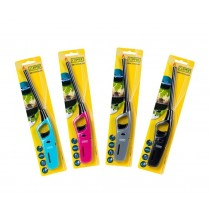 Clipper Bright Light Utility Lighters - Assorted Colours - Pack of 12