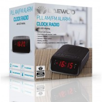 Daewoo Electricals PLL AM/FM Alarm Clock Radio with LED Display