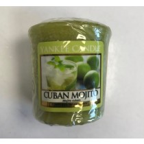 Yankee Candle - Samplers Votive Scented Candle - Cuban Mojito - 50g