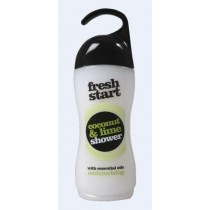 Xpel Brand - Fresh Start Coconut And Lime Shower Gel With Essential Oils - Moisturising - 420Ml
