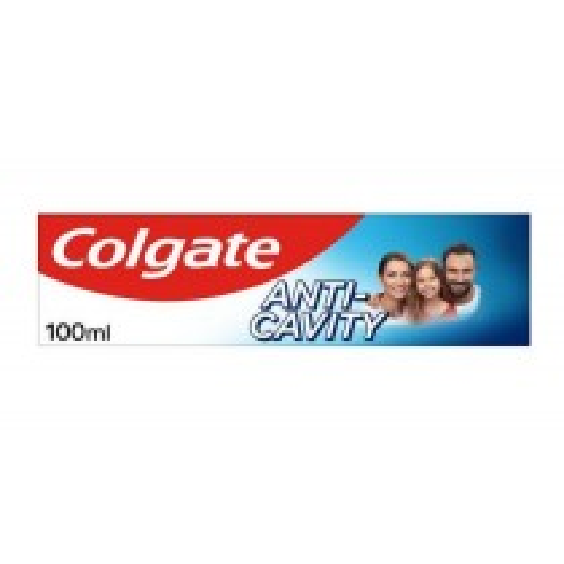 Colgate Anti-Cavity Toothpaste with Calcium - 100ML
