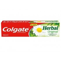 Colgate Herbal Fluoride Toothpaste for Healthy Teeth & Strong Gums - Original - 100ml